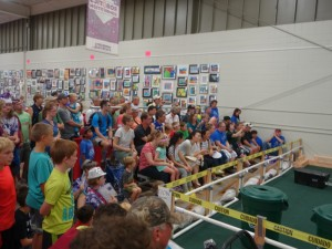 Robotics drew quite a crowd!