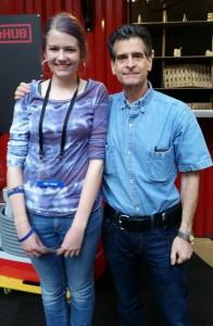 Laura met Dean Kamen!